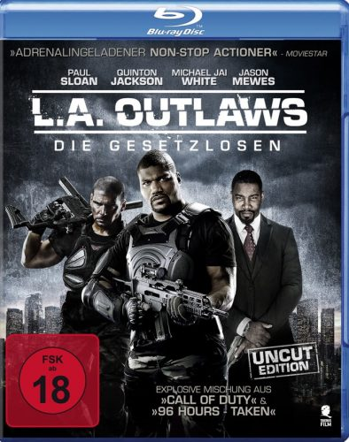 LA Outlaws - Die Gesetzlosen Blu-ray Review Cover 1