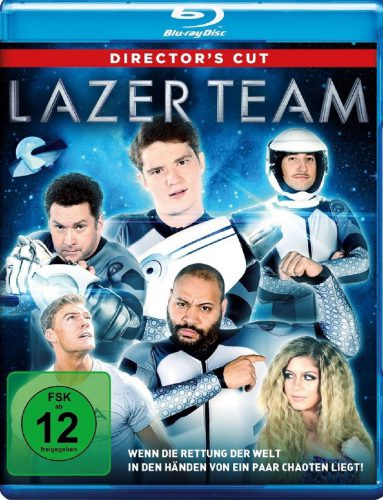 Lazer Team Director's Cut Blu-ray Review Cover