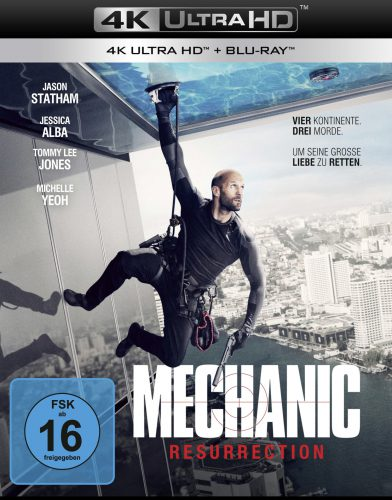 Mechanic - Ressurection 4K UHD Blu-ray Review Cover
