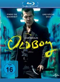 Oldboy 2014 Blu-ray Review Cover