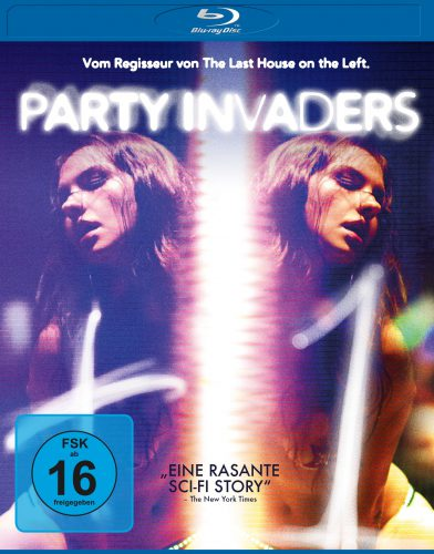 Party Invaders Blu-ray Review Cover