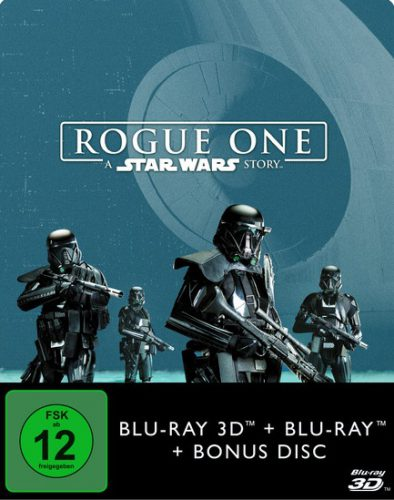 Rogue One - A Star Wars Story 3D Blu-ray Review Cover