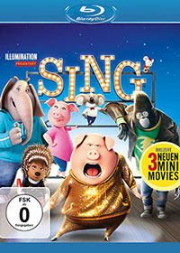 Sing Blu-ray Review Cover