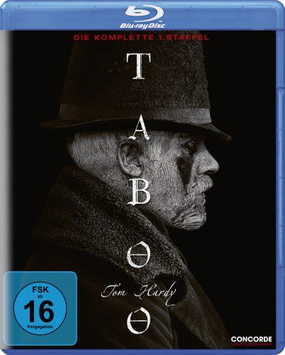 Taboo - die komplette erste Staffel Blu-ray Review Cover