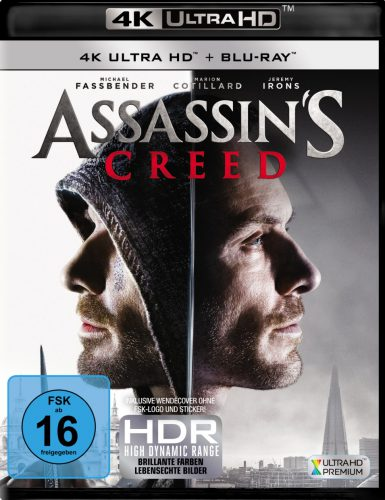 Assassin's Creed 4K UHD Blu-ray Review Cover