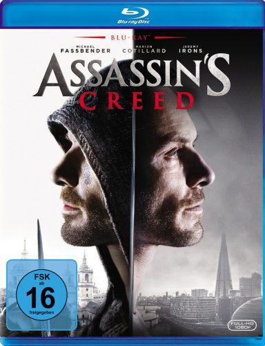 Assassin's Creed Blu-ray Review Cover