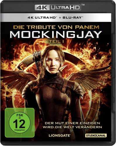 Die Tribute von Panem - Mockingjay 1 4K UHD Blu-ray Review Cover