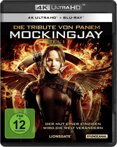 Die Tribute von Panem - Mockingjay 1 4K UHD Blu-ray Review Cover
