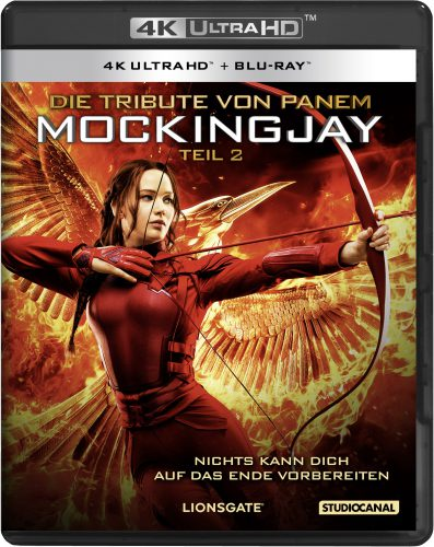 Die Tribute von Panem - Mockingjay 2 4K UHD Blu-ray Review Cover