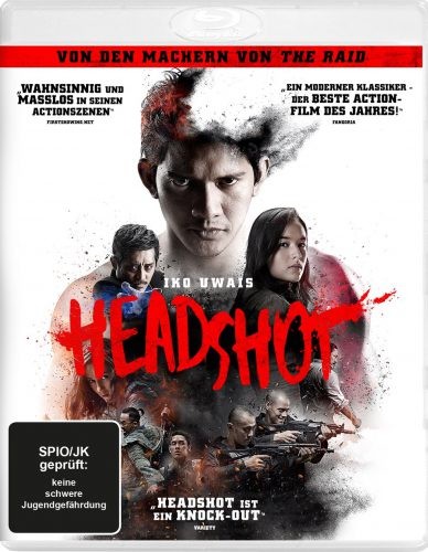 Headshot Blu-ray Review Cover