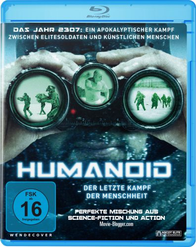 Humanoid - Der letzte Kampf der Menschheit Blu-ray Review Cover