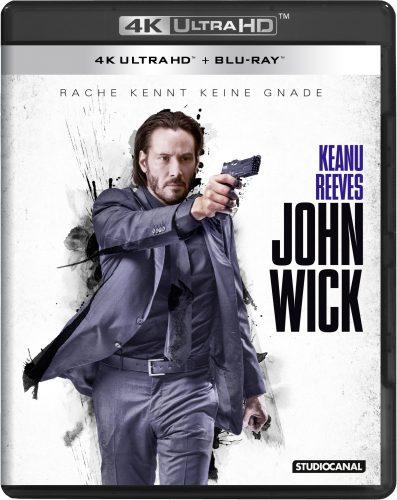 John Wick - Rache kennt keine Gnade 4K UHD Blu-ray Review Cover