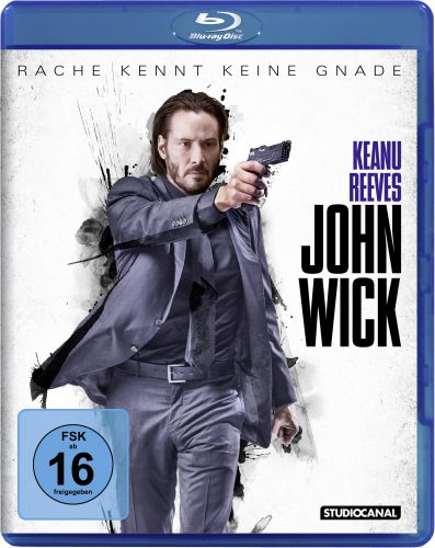 John Wick - Rache kennt keine Gnade Blu-ray Review Cover