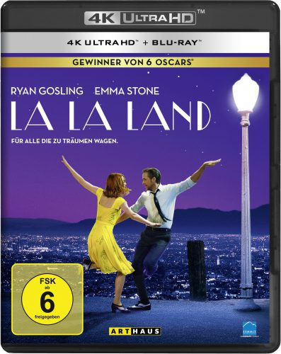 La La Land 4K UHD Blu-ray Review Cover