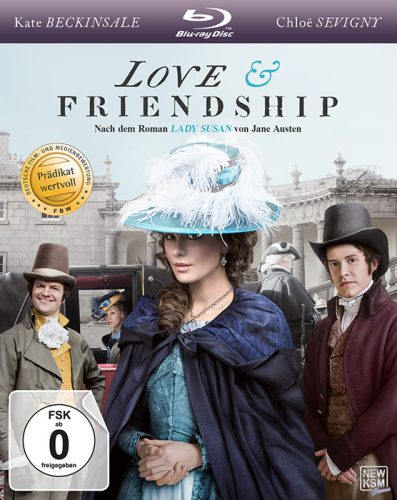 Love & Friendship Blu-ray Review Cover
