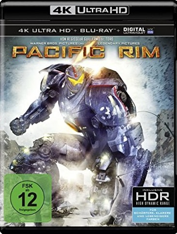 Pacific Rim 4K UHD Blu-ray Review Cover