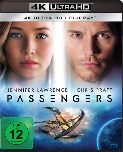 Passengers 4K UHD Blu-ray Review Cover