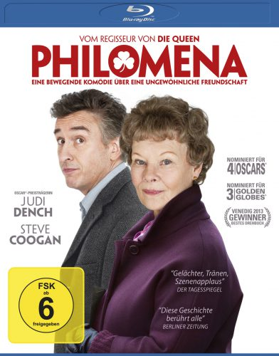 Philomena Blu-ray Review Cover