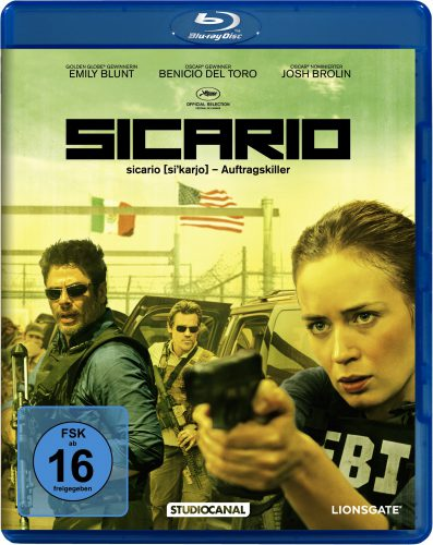 Sicario Blu-ray Review Cover