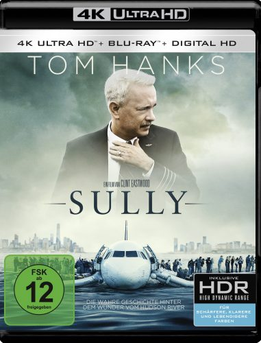 Sully 4K UHD Blu-ray Review Cover