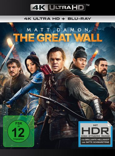 The Great Wall 4K UHD Blu-ray Review Cover