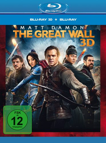 The Great Wall Blu-ray Review Cover