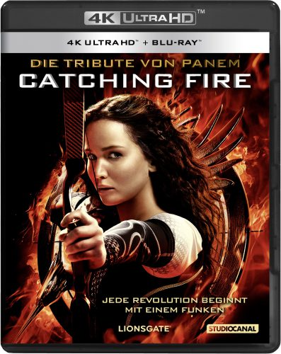 Tribute von Panem - Catching Fire 4K UHD Blu-ray Review Cover
