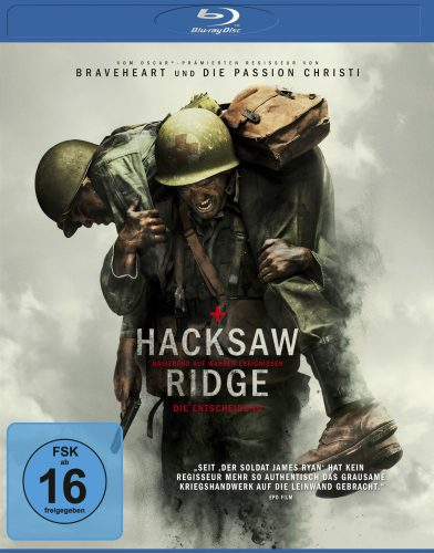 Hacksaw Ridge - Die Entscheidung Blu-ray Review Cover