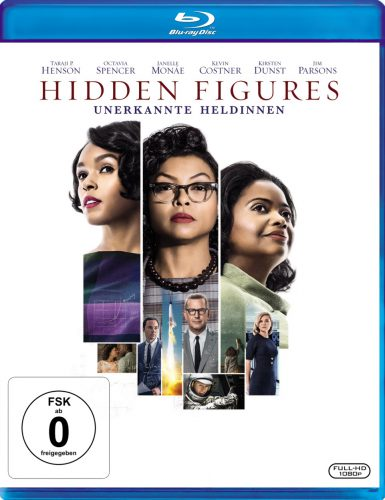Hidden Figures - Unerkannte Heldinnen Blu-ray Review Cover