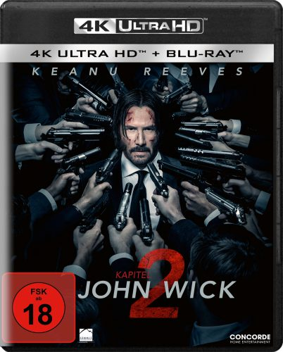 John Wick Kapitel 2 4K UHD Blu-ray Review Cover