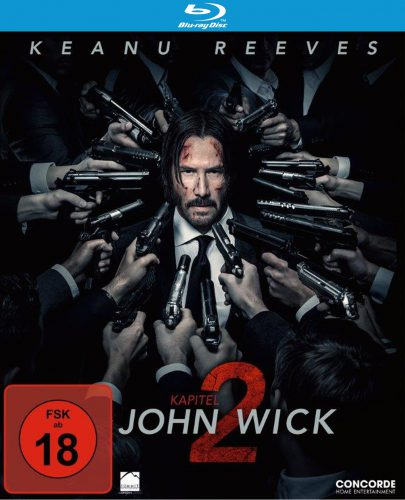 John Wick Kapitel 2 Blu-ray Review Cover