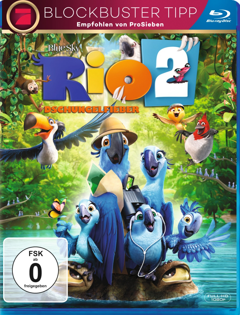 blu ray kritik rio 2 dschungelfieber full hd review rezension. Black Bedroom Furniture Sets. Home Design Ideas