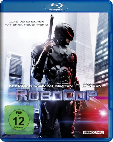 RoboCop 2014 Blu-ray Review Cover