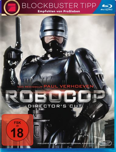 RoboCop Director's Cut Blu-ray Review Cover