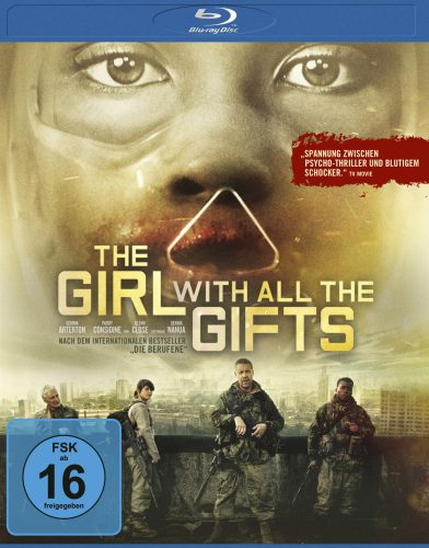 The Girl with all the gifts Blu-ray Review Cover