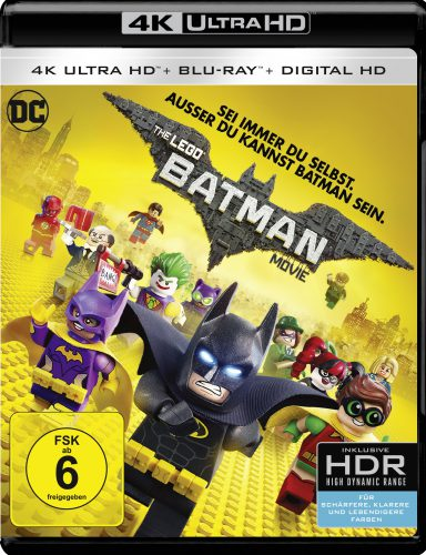The Lego Batman Movie 4K UHD Blu-ray Review Cover