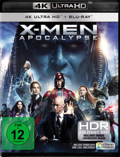 X-Men Apocalypse 4K UHD Blu-ray Review Cover