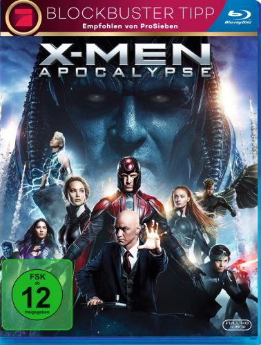 X-Men Apocalypse Blu-ray Review Cover