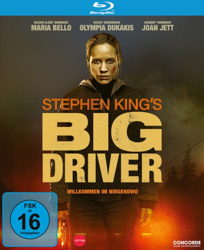 Big Driver - Willkommen im Nirgendwo Blu-ray Review Cover