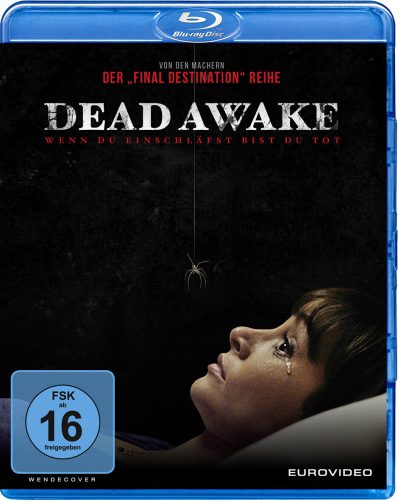 Dead Awake Blu-ray Review Cover