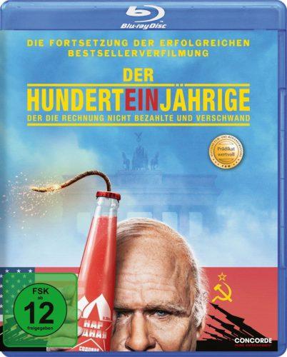 Der Hunderteinjährige, der die Rechnung nicht bezahlte und verschwand Blu-ray Review Cover