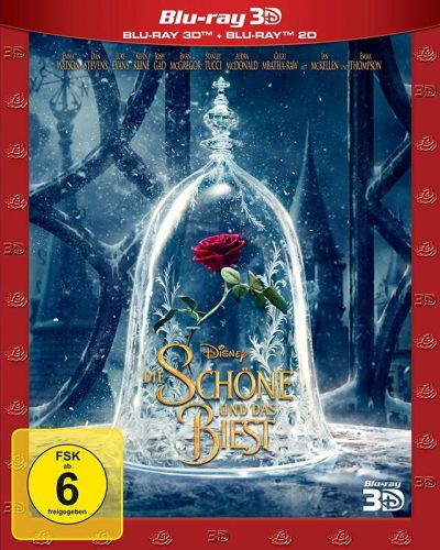 Die Schöne und das Biest 3D Blu-ray Review Cover