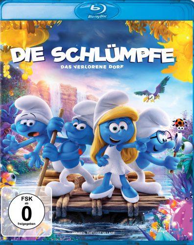 Die Schlümpfe - Das verlorene Dorf Blu-ray Review Cover
