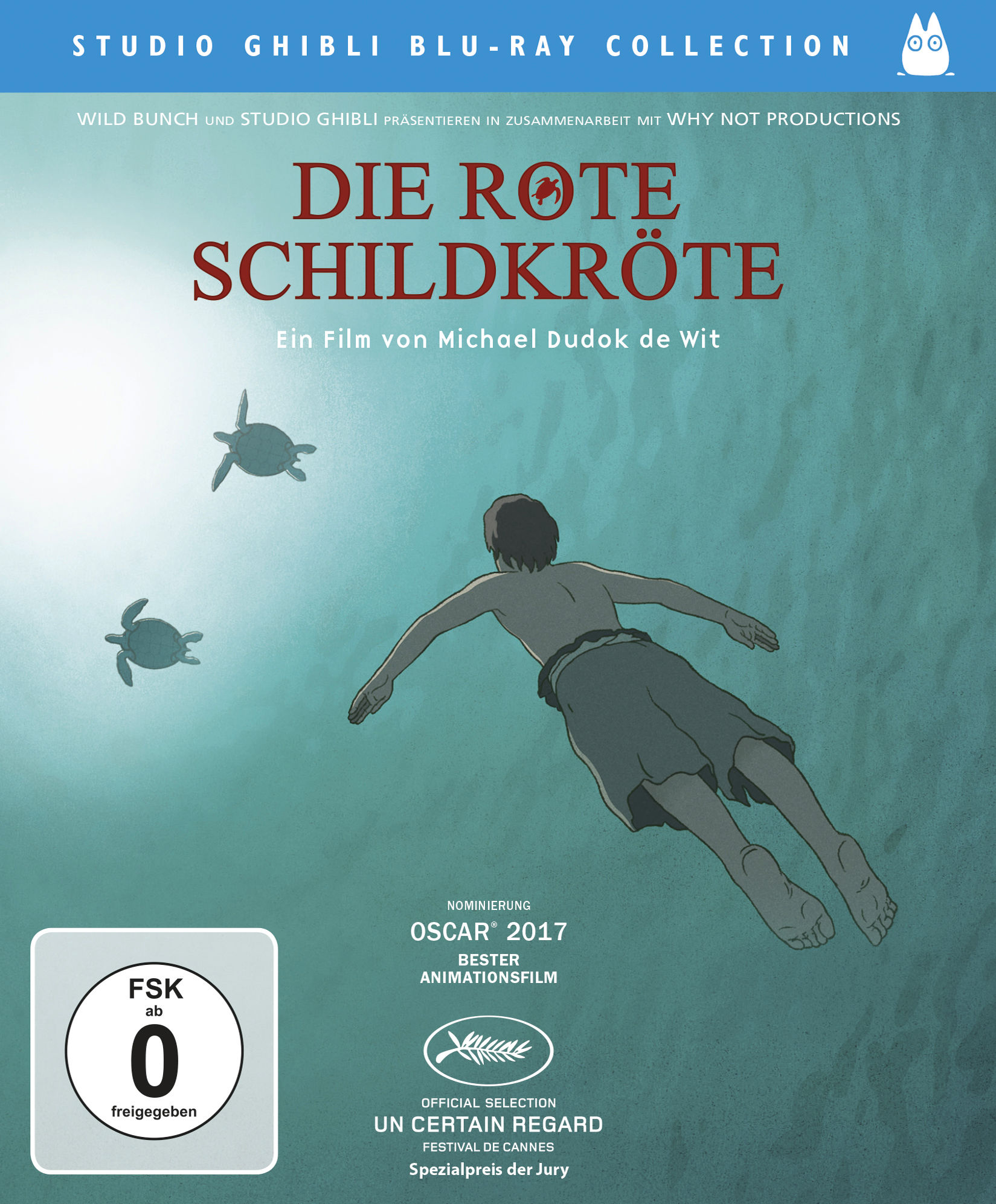 Blu-ray Kritik | Die rote Schildkröte (Full HD Review, Rezension ...