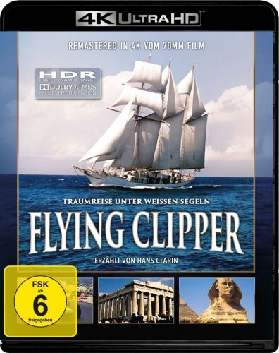Flying Clipper - Traumreise unter weiße Segeln 4K UHD Review Cover
