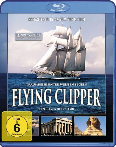 Flying Clipper - Traumreise unter weiße Segeln BD Review Cover