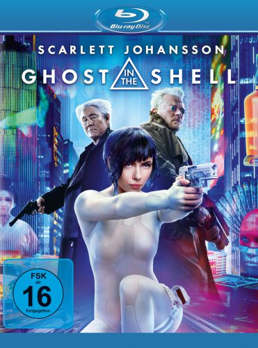 Ghost in the Shell 4K +Blu-ray Review Cover