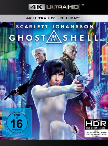 Ghost in the Shell 4K UHD Blu-ray Review Cover