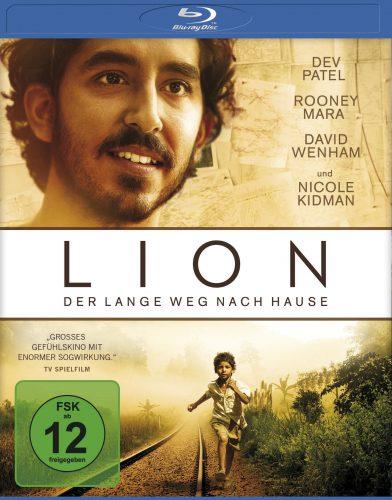 Lion - Der lange Weg nach Hause Blu-ray Review Cover