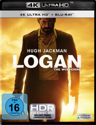Logan the Wolverine 4K UHD Blu-ray Review Cover
